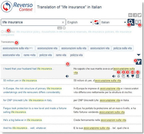 Reverso Context, an app for language learners that can also help translators (from About Translation blog by Riccardo Schiaffino) | Multilíngues | Scoop.it