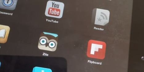 Zite & Flipboard: 2 great ways to keep up with education technology | Go Make | Curtin iPad User Group | Scoop.it