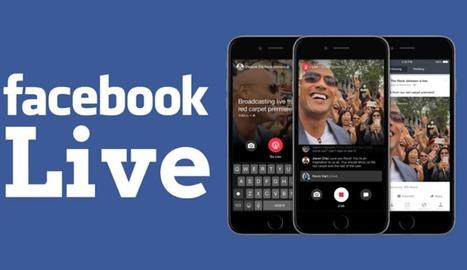 Facebook Live : qu'est ce que c'est et comment ça marche ? | Veille pour les acteurs touristiques | Scoop.it