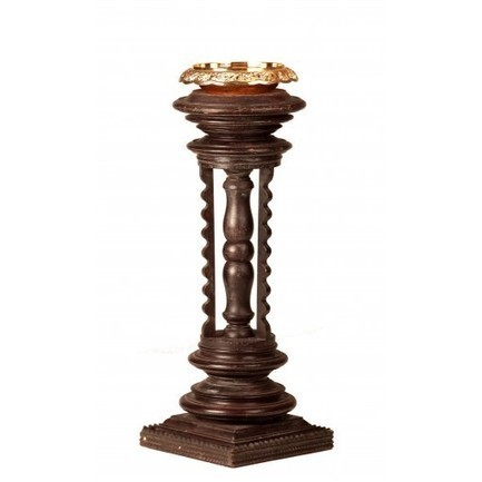 Buy Vase Stand | Wooden | For Flowers | Madhurya | Interior and home decor | Scoop.it