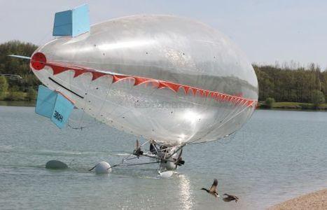 Un dirigeable sur l'eau de Saint-Yrieix! | Aérostation, ballons et dirigeables | Scoop.it