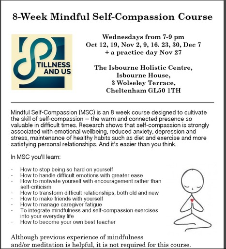 8-week Mindful Self Compassion Course Cheltenham | Living Mindfulness & Compassion | Scoop.it