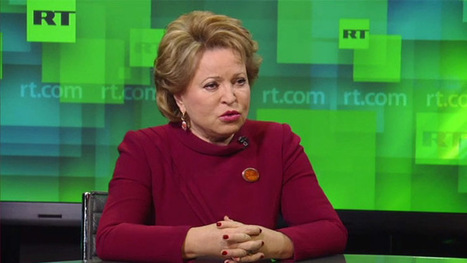 People expressing their opinion horrify Ukraine's coup-installed govt – Russia's Upper House chair | Saif al Islam | Scoop.it