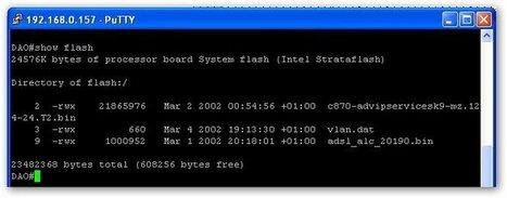 Sauvegarder la configuration d'un routeur Cisco   Time to Learn   Scoop.it