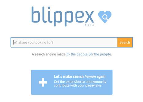 Blippex, moteur de recherche généraliste | Time to Learn | Scoop.it