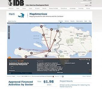 IADB Launches MapAmericas | OpenSource Geo & Geoweb News | Scoop.it