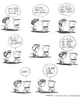 Français Langue Étrangère - A1: Les adjectifs possesifs - BD de Brétecher | FLE enfants | Scoop.it
