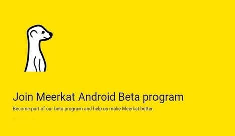 Meerkat ya dispone de una beta pública para Android | Educacion, ecologia y TIC | Scoop.it