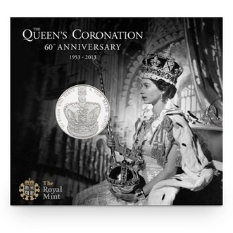 The 60th Anniversary of the Queen's Coronation 2013 UK £5 Coin   The Royal Mint   The Royal Mint   Scoop.it