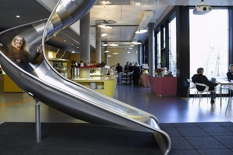 Top 20 Most Awesome Company Offices - How To Make Money Online | Workplace Design and Employee Engagement | Scoop.it