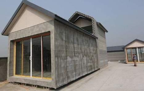 Impression 3D: dix maisons construites en 24h   Art.Science.Web2.0   Scoop.it