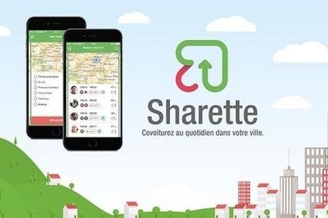 Sharette : la combinaison entre covoiturage et transports en commun | ParisBilt | Scoop.it