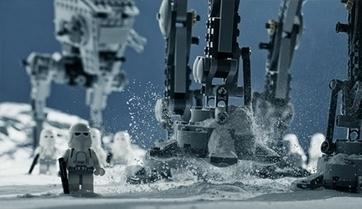 Des scènes de films connus recréées avec des legos par un photographe. | Free art | Scoop.it