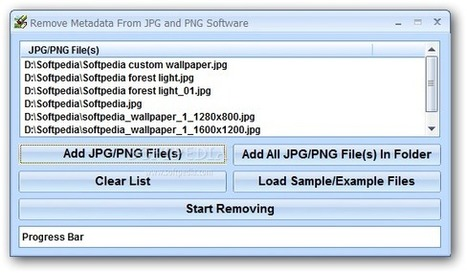 Remove Metadata From JPG and PNG Software 7.0   Library Corner   Scoop.it