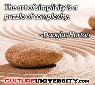A culture of simplicity: Keeping it simple, the smart way | Growing a business | Scoop.it
