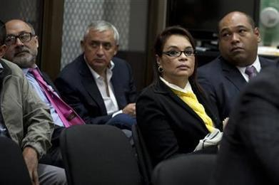 Ex-Guatemalan president and VP charged in corruption scheme | Global Corruption | Scoop.it