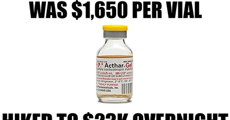 5 Drugs Whose Monstrous Price Hikes Will Outrage You | Pharma & Medical Devices | Scoop.it