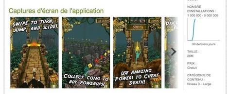 Temple Run, 1 million de téléchargements sur le Google Play Store en 3 jours   INFORMATIQUE 2015   Scoop.it