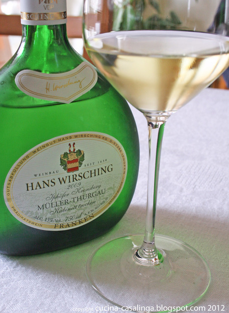 Wein - Müller-Thurgau Kabinett 2010 (Wirsching) | Weinrallye | Scoop.it