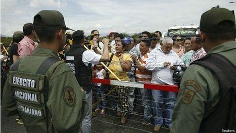 ¿Qué pasa en la frontera entre Venezuela y Colombia? - BBC Mundo | limes | Scoop.it
