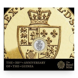 The 350th Anniversary of the Guinea 2013 UK £2 BU   The Royal Mint   The Royal Mint   Scoop.it