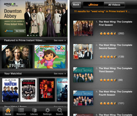 Amazon Prime Instant Video app finally arrives on the iPhone — but without Airplay | Inside Amazon | Scoop.it