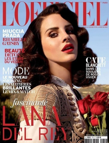 Oh No They Didn't! - Lana Del Rey covers L'officiel's April Issue | Lana Del Rey - Lizzy Grant | Scoop.it