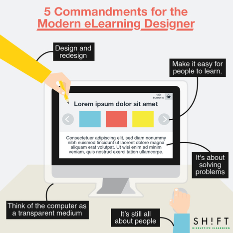 5 commandments for the modern eLearning Designer | Edumorfosis.it | Scoop.it