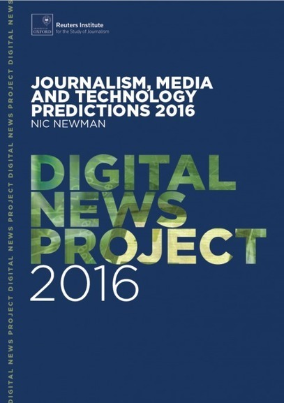 Journalism, media and technology predictions 2016 | Media digital | Scoop.it