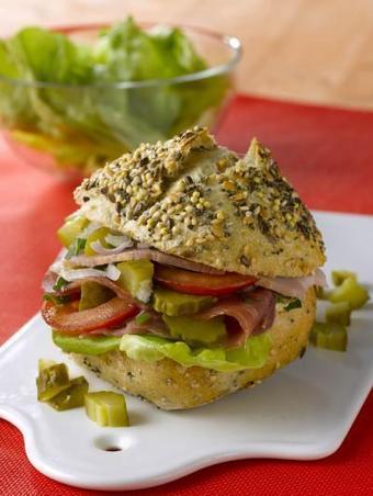 Recette complète - Petits pains Croq'Bistrot au jambon de pays - Notée 5/5 par les internautes   picnic   Scoop.it