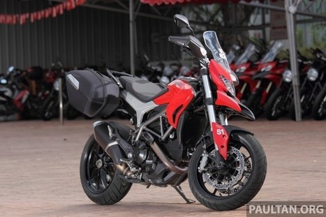 REVIEW: Ducati Hyperstrada - new Duke tourer shines | Ductalk Ducati News | Scoop.it