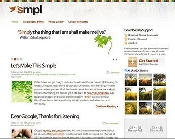 50+ Best High Quality Minimal WordPress Themes | Template & Webdesign | Scoop.it