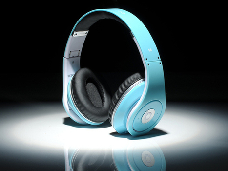 Eye-catching Monster Beats By Dr Dre Studio Headphone Pale Turquoise_hellobeatsdreseller.com | Turquoise Beats By Dre | Scoop.it