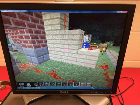 MinecraftEDU Redstone Engineering Challenge   3D Virtual-Real Worlds: Ed Tech   Scoop.it