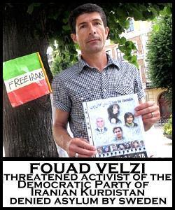 URGENT: Letter-Writing Action: Stop Sweden's Illegal Deportation of Kurdish Opposition Activist Fouad Velzi! | Human Rights and the Will to be free | Scoop.it