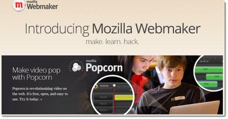 Mozilla Webmaker, nuevo programa de Mozilla para crear contenido en la web | Webmaker | Scoop.it