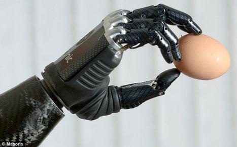 Bebionic3, la main du futur | Actualités robots et humanoïdes | Scoop.it