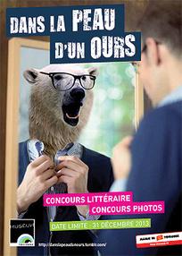 """#Concours de nouvelles du Museum de Toulouse """"Dans la peau d'un ours"""" jusqu'au 31 décembre 2013   Concours de nouvelles humoristiques   Scoop.it"""