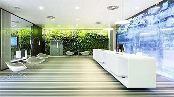 Green and High-Tech in One Office – Commercial Interior Design News | Office Design News | Scoop.it