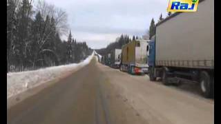 Russian Drivers Stuck In Snow For Days In Giant Traffic Jam | Egyptday1 | Scoop.it