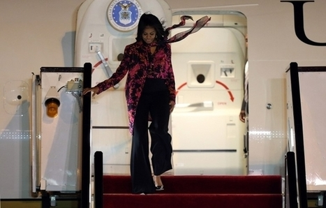 #MichelleObama visits #US air base in #Qatar #VisitingWarCriminals #Imperialism - middleeasteye.net | News in english | Scoop.it
