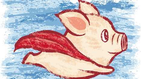 Imagine A Flying Pig: How Words Take Shape In The Brain | Coaching for Leaders | Scoop.it