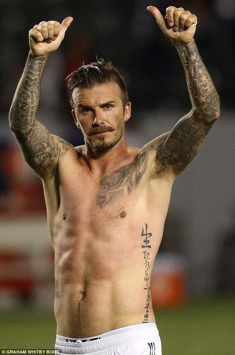 Các hình xăm đẹp của Beckham 2013 | anhdanh_90 | Scoop.it