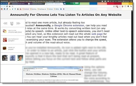 21 Chrome Extensions to support students via Eric Curtis | Cool School Ideas | Scoop.it