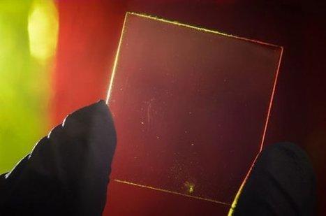 Πλήρως διάφανο φωτοβολταϊκό panel για παράθυρα και για φορητές συσκευές [Video] | ΤΕΧΝΟΛΟΓΙΑ | Scoop.it