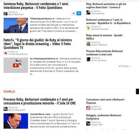 #cinesilvio  #Berlusconi condannato | Allicansee | Scoop.it