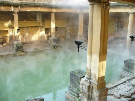 The Roman Baths at Bath   Classically Inclined   Roman Britian   Scoop.it