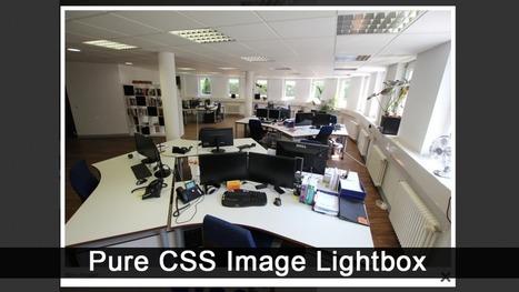 Pure CSS Image Lightbox Using :Target Selector - Andor Nagy | Web Design | Scoop.it