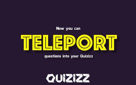 Teleport your Questions! | Interessantes. Interesting | Scoop.it