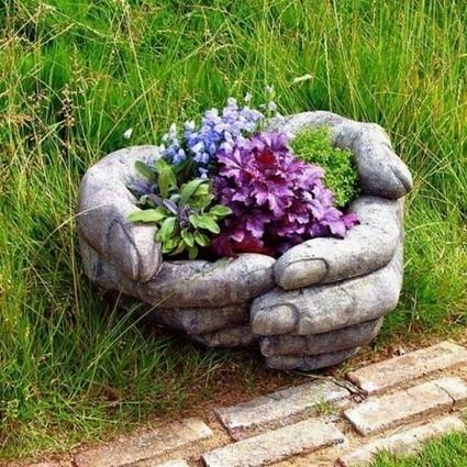 Скульптура для сада, поверьте создать подобный Арт-объект под силу каждому | ars | Scoop.it